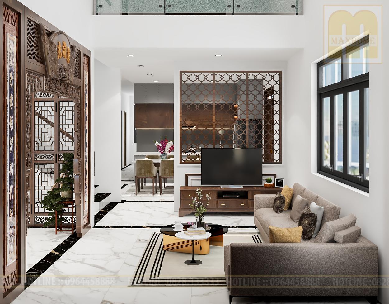 Thiết kế nội thất đẹp thu hút mọi ánh nhìn