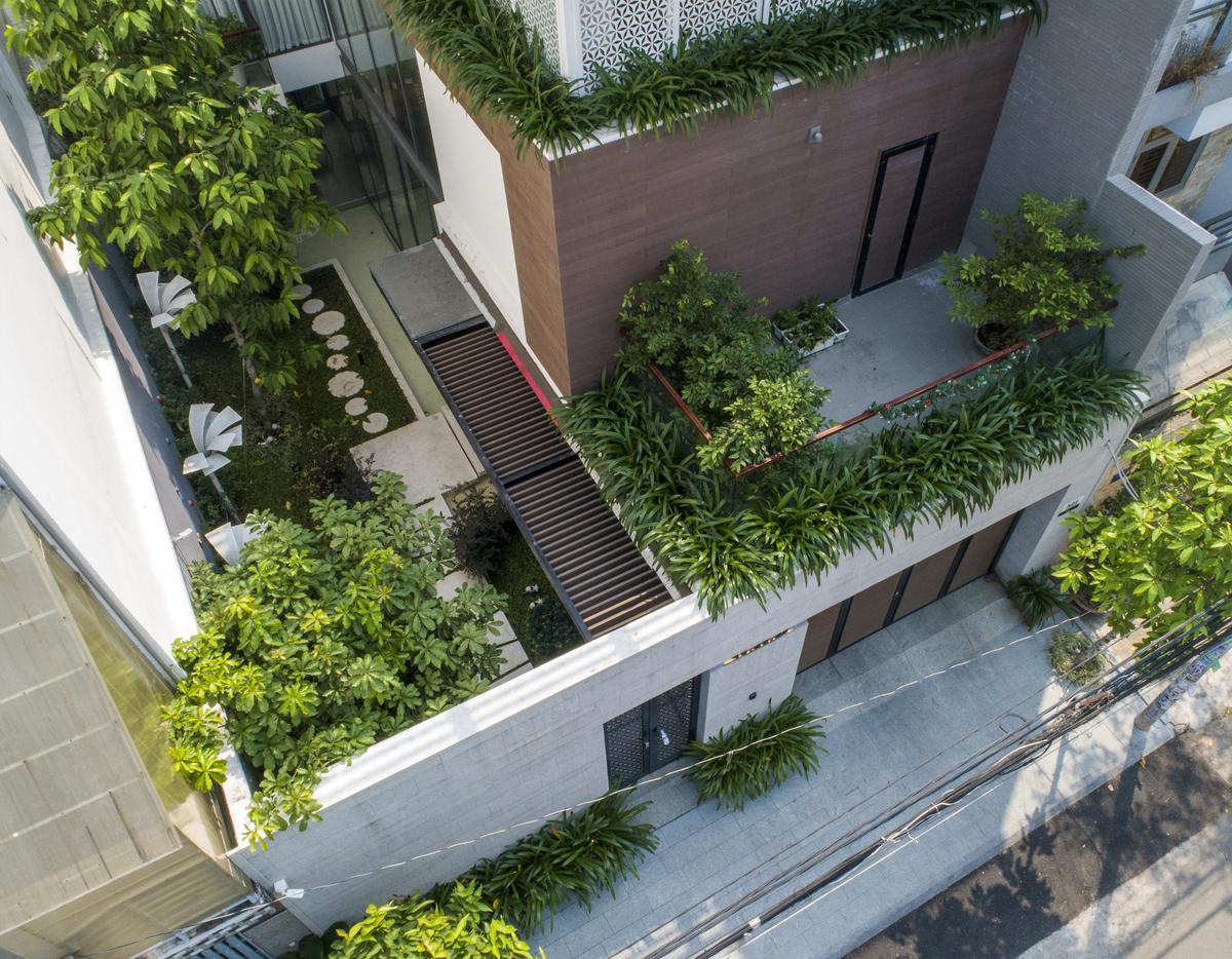 Những lưu ý trong thiết kế giúp gia đình bạn sở hữu một không gian sân vườn nhà phố hoàn hảo