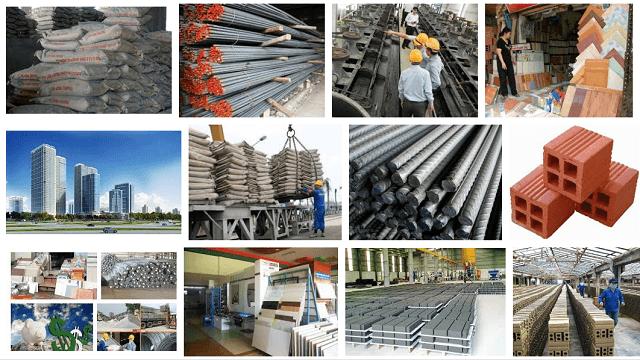 Báo giá vật liệu xây dựng 2021