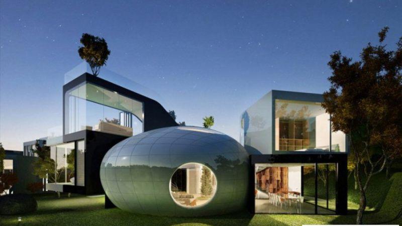 10+ ngôi nhà có thiết kế đẹp - độc - lạ nhất thế giới