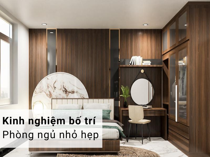 Kinh nghiệm bố trí phòng ngủ với diện tích nhỏ hẹp