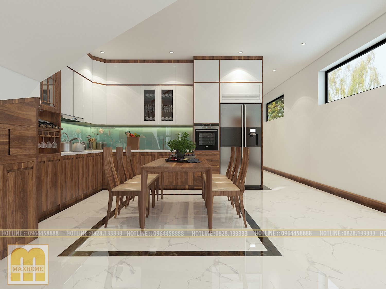 Lựa chọn nội thất nhà bếp đẹp sang trọng