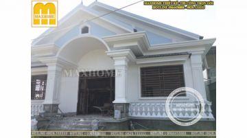 MH1T0016 | Thi công nhà cấp 4 rẻ, đẹp tại Nghệ An
